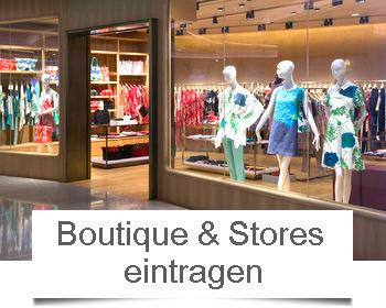 Boutique Store eintragen