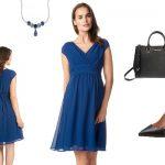 blaue-kleider-kurz
