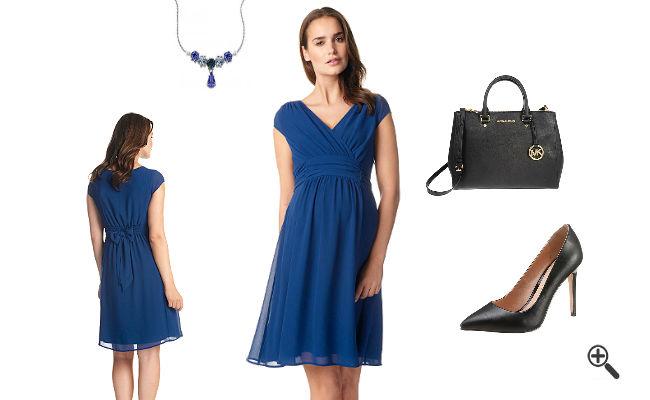 Blaue Kleider kurz