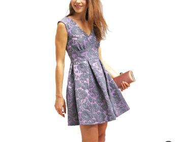 Festliche Sommerkleid mit einen wunderschönen Schnitt