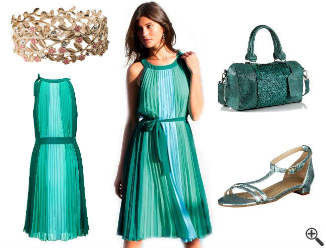 Grüne Kleider