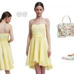 kleider-gelb