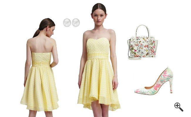 Kleider Gelb