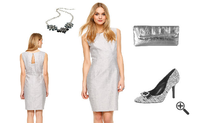Kleider Silber