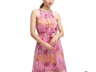 Luftiges Sommerkleid in Kurz und Pink