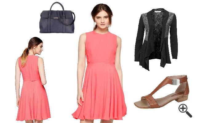 Neon pinke Kleider