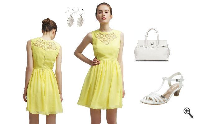 Neonfarbene Kleider