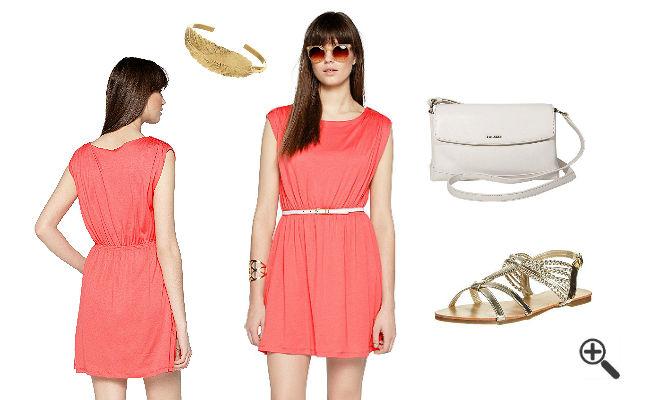Orange Kleider