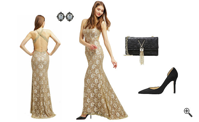Outfit Ideen Gold