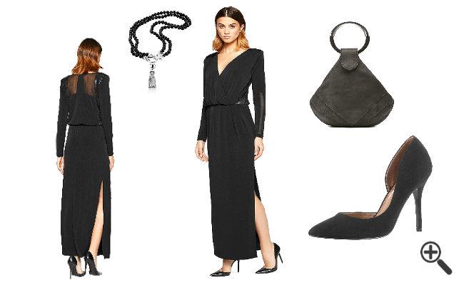 Outfit Ideen in schwarz
