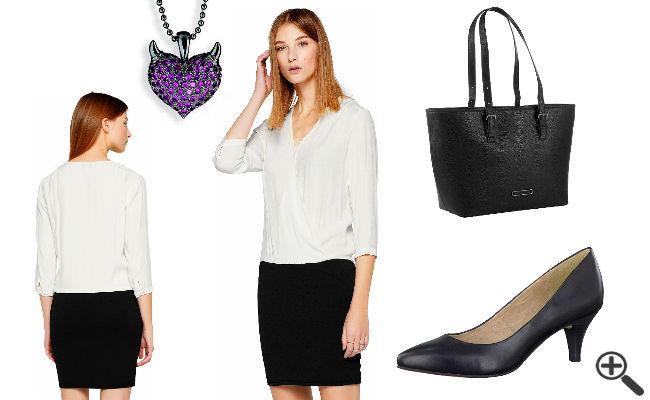 Outfit Ideen schwarz weiß