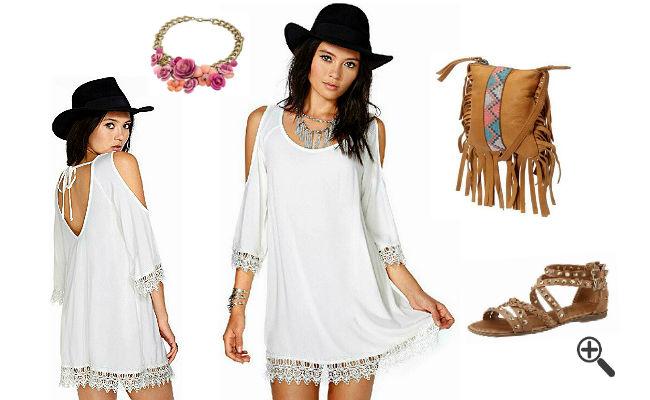 Weiße Kleider günstig Online kaufen – jetzt bis zu -87% sparen ... 17c3e5a6c9