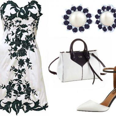 Outfit Schwarz Weiß