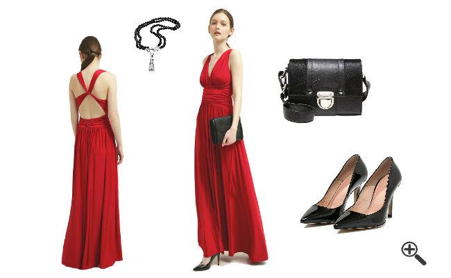 bodenlange kleider fur kleine frauen stilvolle kleider. Black Bedroom Furniture Sets. Home Design Ideas