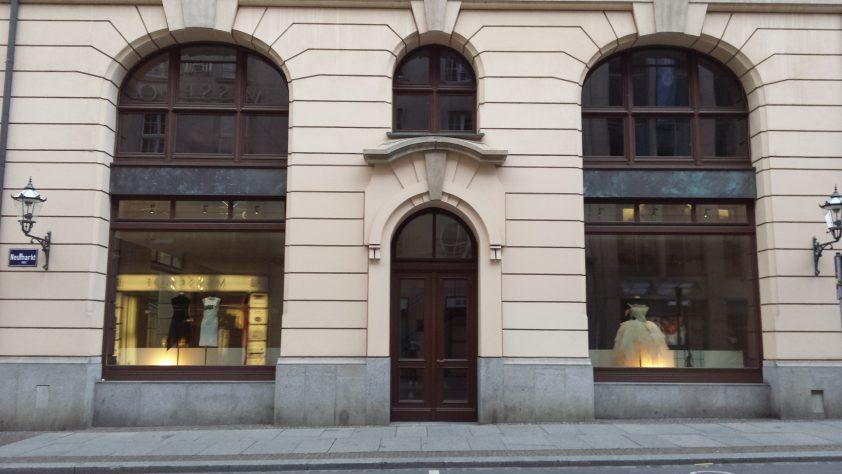 TAF woman in Leipzig
