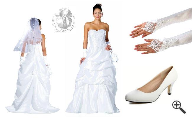 Getragene Hochzeitskleider verkaufen