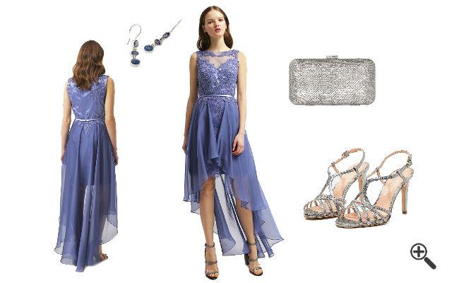 Kleid blau c und a