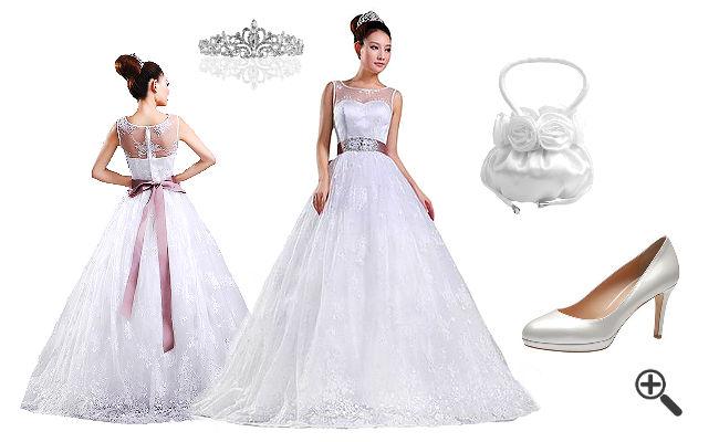 35f629806a61 Ebay Kleinanzeigen Hochzeitskleid günstig Online kaufen – jetzt bis ...