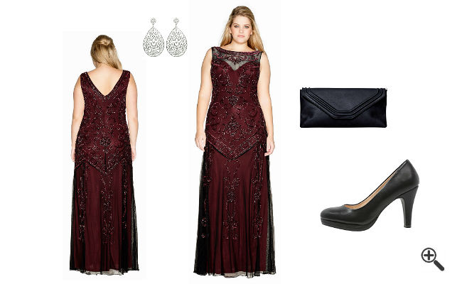 Elegante 2 teilige kleider