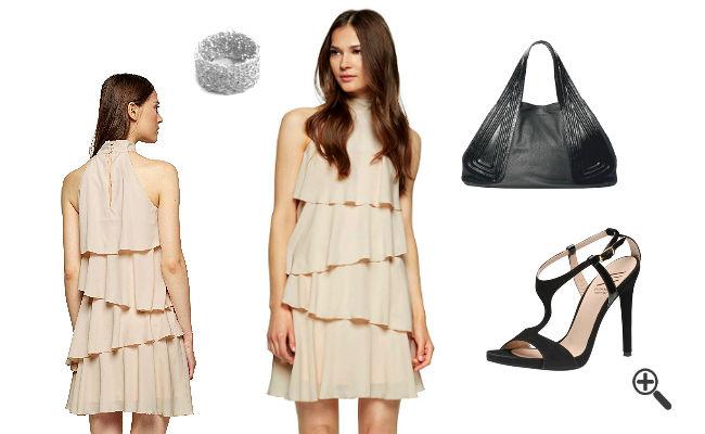 Kleid hochzeitsgast stillen