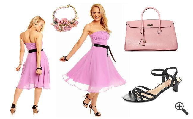 kleid mit petticoat 60er stil günstig online kaufen