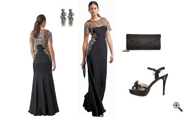 97ba4499b5dfe1 One Shoulder Kleid Schwarz Lang günstig Online kaufen – jetzt bis zu -87%  sparen! | Kleider bis zu -87% günstiger Online kaufen