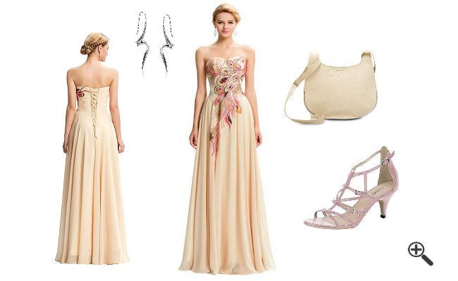 Kleid lang 52