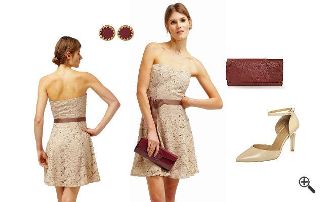 Bandeau Kleid Esprit Rosa günstig Online kaufen - jetzt ...