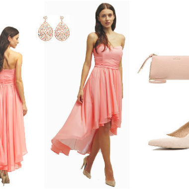 Blaues High Low Kleid günstig Online kaufen – jetzt bis zu -87% sparen!