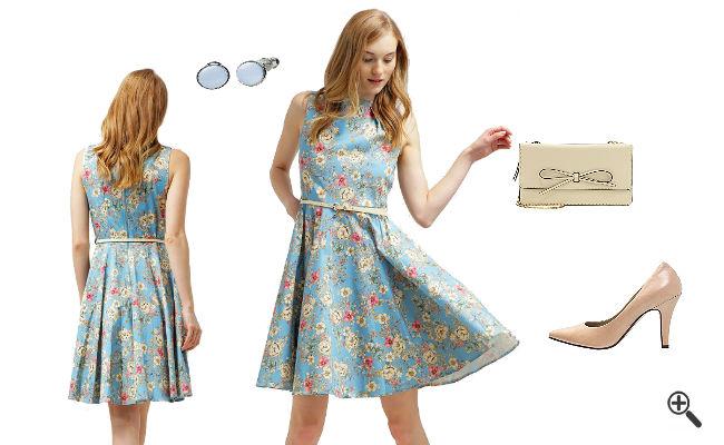 H&M Blaues Kleid günstig Online kaufen - jetzt bis zu -87% ...